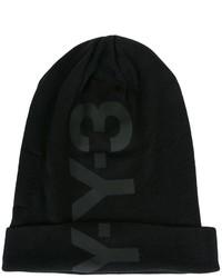 Bonnet imprimé noir Y-3