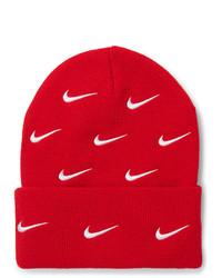 Bonnet imprimé rouge Nike