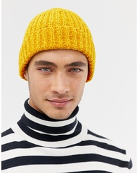 Bonnet jaune ASOS DESIGN