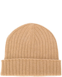 Bonnet marron clair A.P.C.