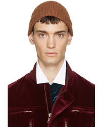 Bonnet marron clair Haider Ackermann