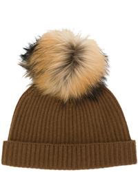 Bonnet marron N.Peal