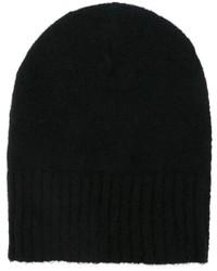 Bonnet noir AMI Alexandre Mattiussi