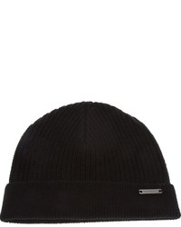 Bonnet noir Burberry