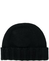 Bonnet noir Drumohr