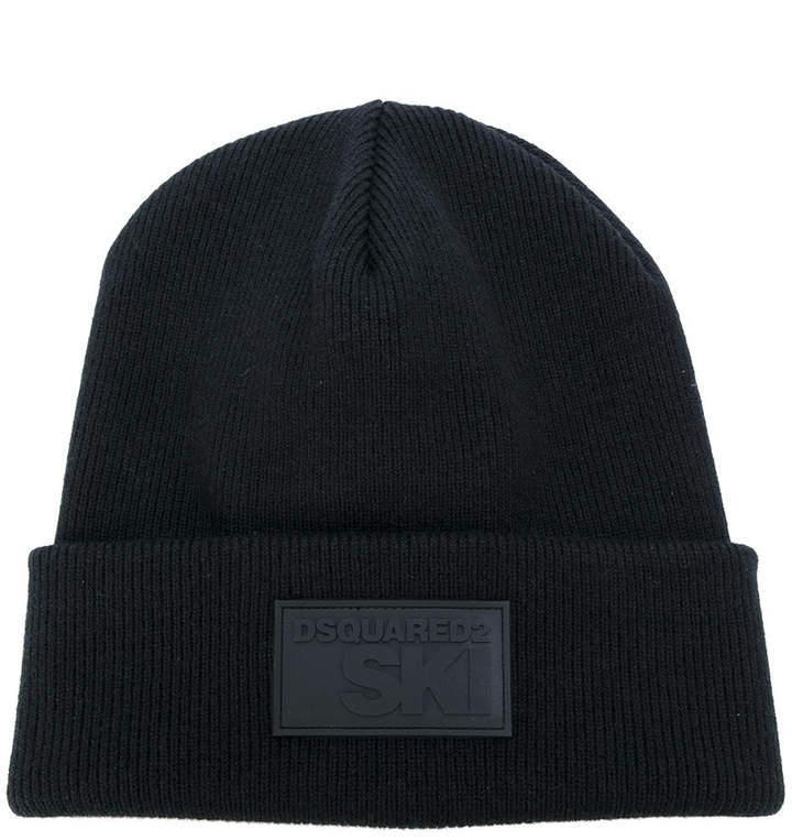 Bonnet noir DSQUARED2
