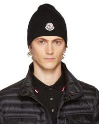 Bonnet noir Moncler