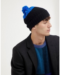 Bonnet noir Paul Smith