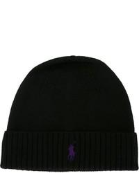 Bonnet noir Polo Ralph Lauren