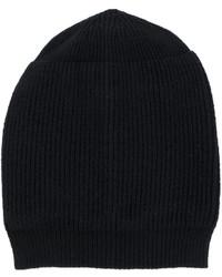 Bonnet noir Rick Owens