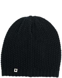 Bonnet noir Twin-Set