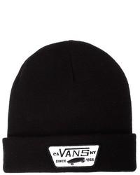 Bonnet noir Vans