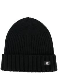 Bonnet noir Versace