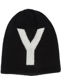 Bonnet noir Y's