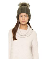 Bonnet olive Inverni