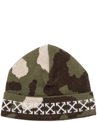 Bonnet olive Off-White