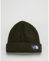 Bonnet olive The North Face