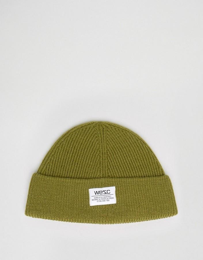 Bonnet olive Wesc