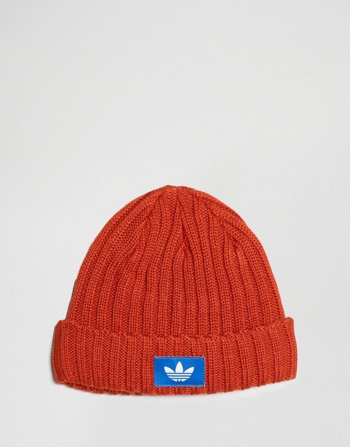 Bonnet orange adidas