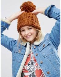 Bonnet orange Asos