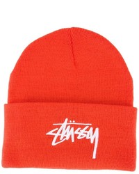Bonnet orange Stussy