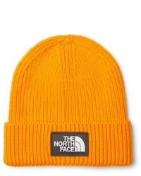 Bonnet orange The North Face