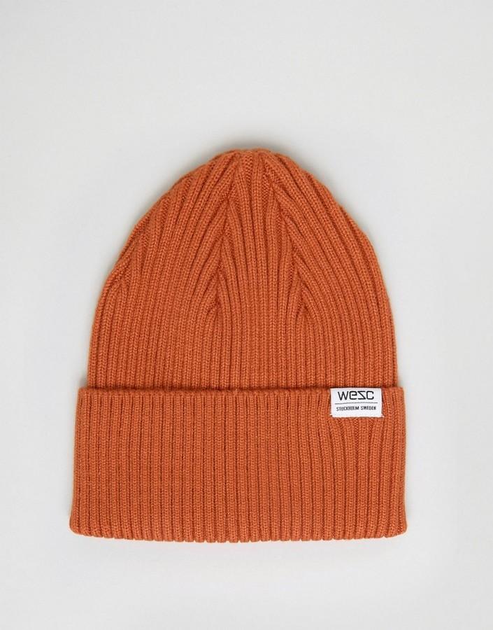 Bonnet orange Wesc