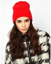 Bonnet rouge Asos