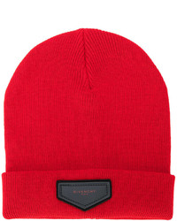 Bonnet rouge Givenchy