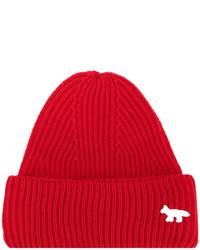 Bonnet rouge MAISON KITSUNÉ