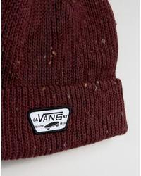 Bonnet rouge Vans