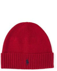 Bonnet rouge Polo Ralph Lauren