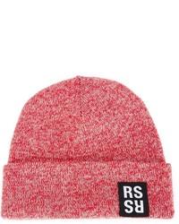 Bonnet rouge Raf Simons