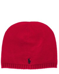 Bonnet rouge Ralph Lauren