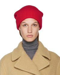 Bonnet rouge Stella McCartney