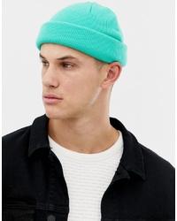 Bonnet turquoise ASOS DESIGN