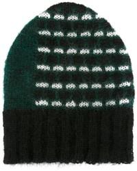 Bonnet vert foncé Marni