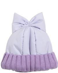 Bonnet violet clair