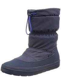 Bottes bleues Crocs