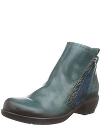 Bottes bleues Fly London