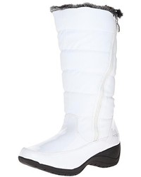 Bottes d'hiver blanches