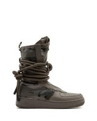 Bottes d'hiver brunes foncées Nike