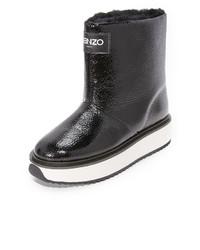 Bottes d'hiver noires Kenzo