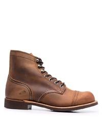 Bottes de loisirs en cuir marron Red Wing Shoes
