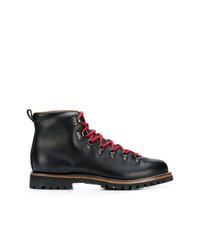 Bottes de loisirs en cuir noires Car Shoe