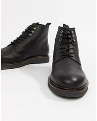 Bottes de loisirs en cuir noires H By Hudson