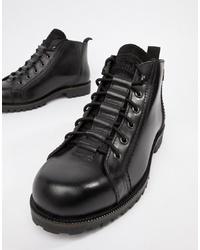 Bottes de loisirs en cuir noires Levi's