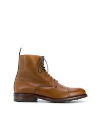 Bottes de loisirs en cuir tabac Berwick Shoes