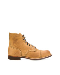 Bottes de loisirs en cuir tabac Red Wing Shoes