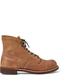 Bottes de loisirs en daim marron clair Red Wing Shoes